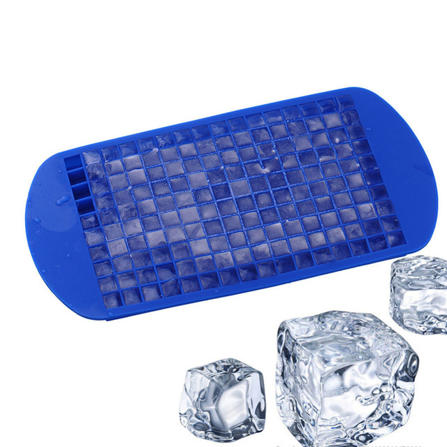 Silicone Square Shaped Ice Cube Tray Mold Ball Maker For Refrigerator Frozen Kitchen