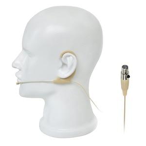 Image 5 - 4 פינים מיני XLR תקע 7.5mm קוטר מיקרופון עור צבע חד כיוונית סוג מיני אחת אוזן תליית אוזניות מיקרופון