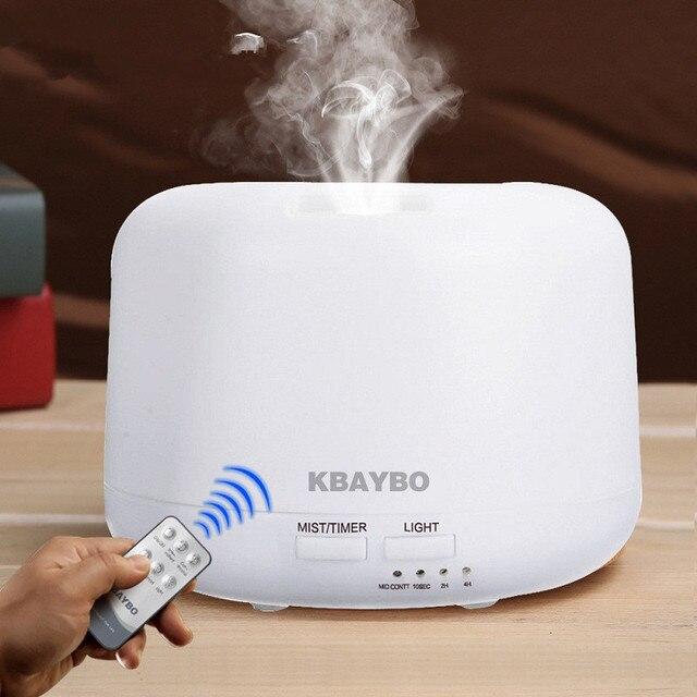 Дистанционное управление 300 мл ультразвуковой увлажнитель воздуха Air aroma с 7 цветов огни Электрический Ароматерапия Эфирное масло Арома диффузор