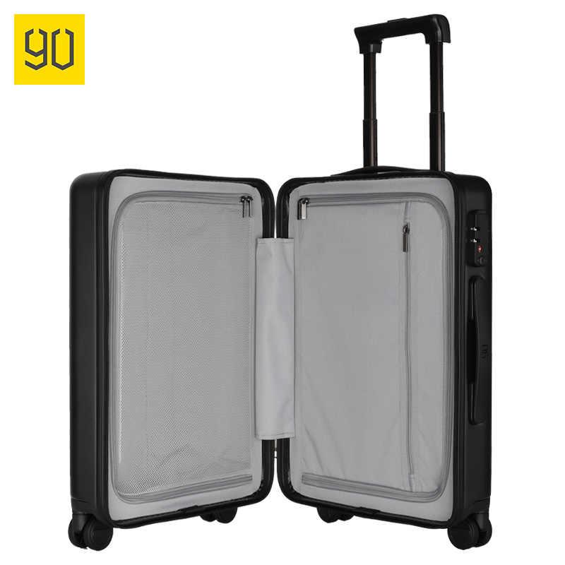 XIAOMI 90FUN PC スーツケースなキャリーにスピナー車輪ローリング荷物 TSA ロックビジネス旅行休暇女性のための男性