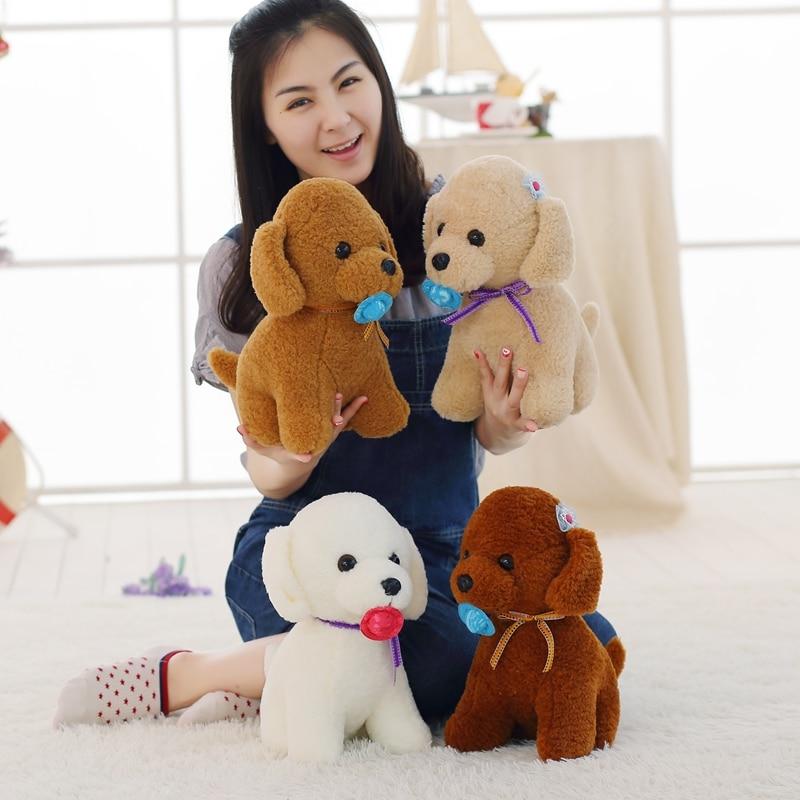 1pc 35cm Cute Puppy Dolls Staffed Teddy Dog Plush Toy Lovely Soft Husky Pet Toys Kawaii Kids Baby Girl Childrens Birthday Gift