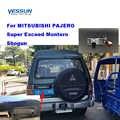 Yessun placa de matrícula de coche cámara trasera para MITSUBISHI PAJERO Super excede Montero Shogun coche vista Cámara asistencia de estacionamiento