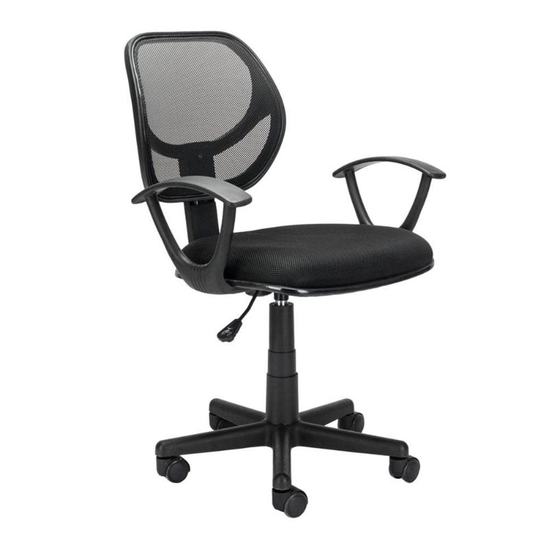 Nylon Mesh Five-star Feet Mesh Chair Ergonomic Adjustable Office Chair E5M1
