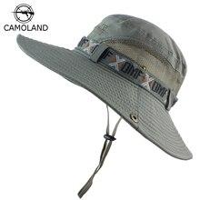 Bucket-Hat Uv-Protection Military Wide-Brim Fishing Tactical Hiking Women Summer Men