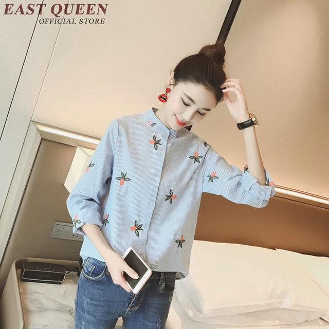 0b0ebdc949 2018 mujeres tops blusas nuevas mujeres de moda blusas manga larga ropa de moda  china mujeres