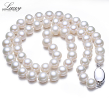 Prefact round freshwater pearl necklace,wedding pearl necklace for women,natural white pearl necklace grade AAA fine gift [nymph] pearl necklace women fine jewelry natural sea pearl necklace wedding party gift 2018 new hyperbole circle x323