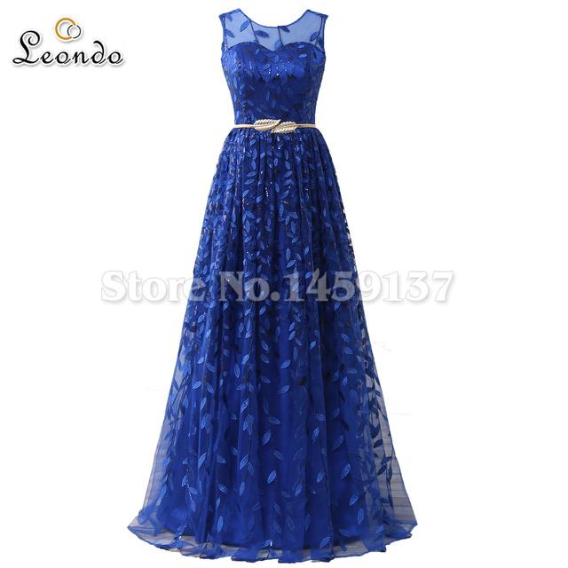Laço azul vestidos de baile transporte rápido até o chão tulle prom dress 2017