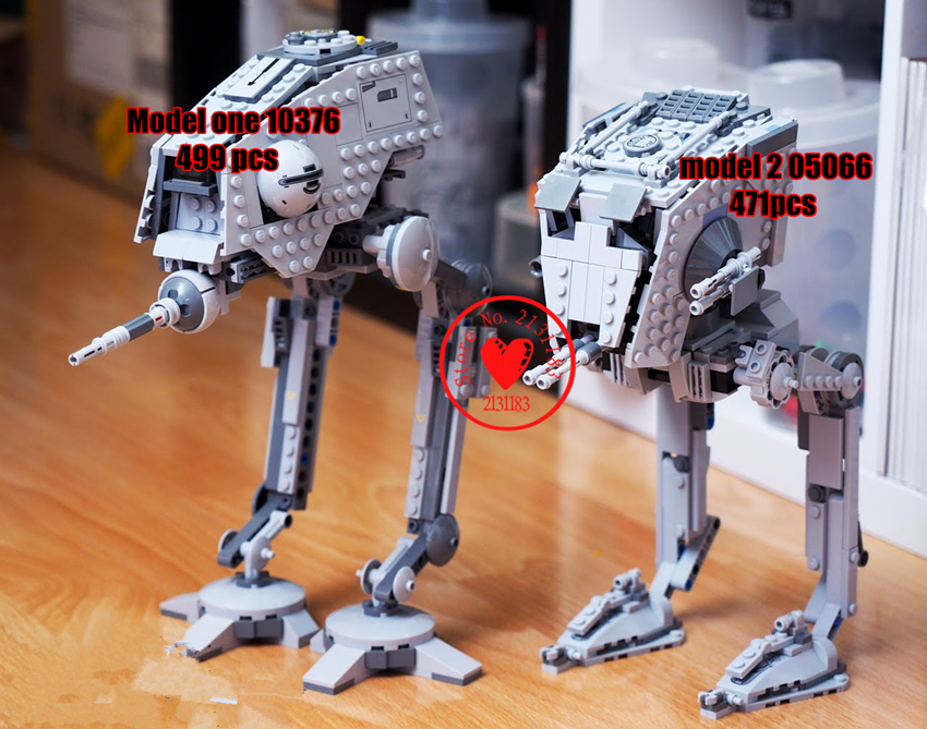 NIEUWE De Rogue Een keizerlijke AT-ST Walker AT-DP fit legoings star wars cijfers model Bouwstenen baksteen diy speelgoed gift kid set