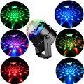 Высокое качество 7 видов цветов Дискотека мыть свет 3 Вт Звук Активированный лазерный проектор RGB поворот сценическое освещение лампа Пряма...