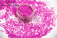 TCH306 2.0 MM Size Solventbestendige Mate Perzik Kleuren Diamond ruitvorm glitter voor nail art en andere deco