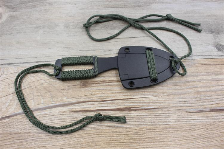 karambit nyak kés valódi harci harci tábor túra szabadtéri - Kézi szerszámok - Fénykép 3
