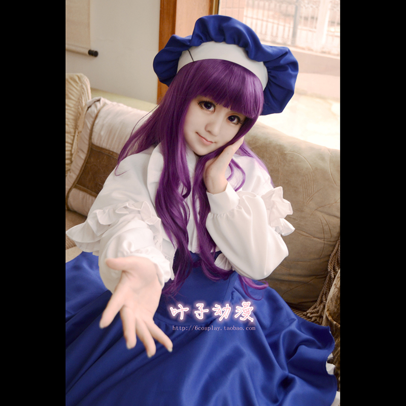 Japon Anime Cardcaptor Sakura Tomoyo Daidouji Lolite Costume robe Cosplay Costume Kawaii fille Halloween Costumes complets Costumes - 2