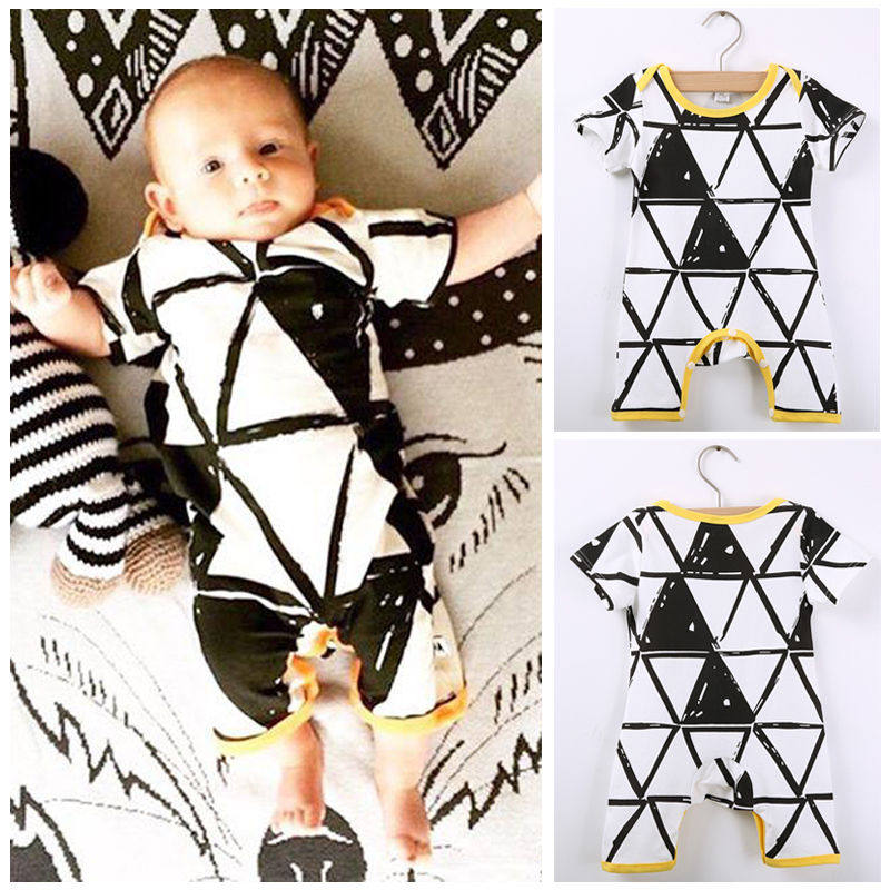 856fa687d516 Newborn Toddler Baby Girls Boys Romper Jumpsuit Playsuit Outfits Clothes New  Fashion Cute Summer 3 6