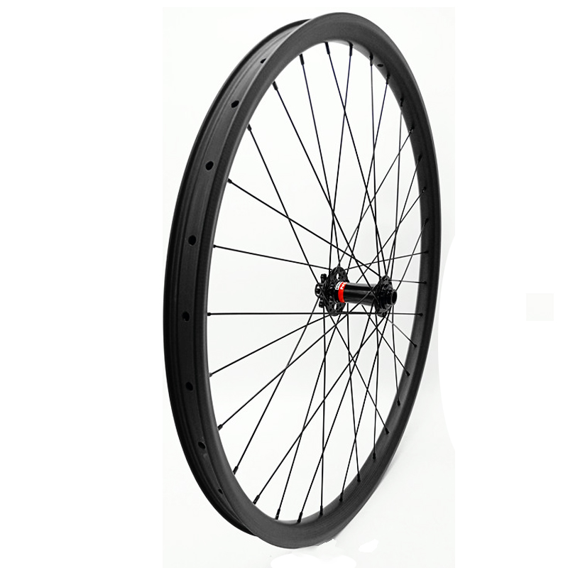 29er mtb wheel boost D791SB 110x15mm front carbon wheelset Tubeless wheel bicycle 35mm 760g carbon wheels
