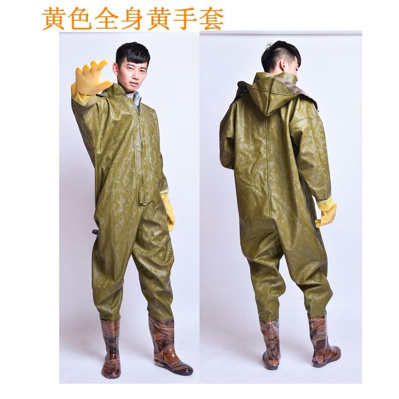 1mm espessura corpo inteiro waders roupas com