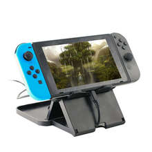 Portable Height Adjustable Holder Support Frame Bracket Compact Playstand Desktop Stand Bracket for Nintend Switch NS Host