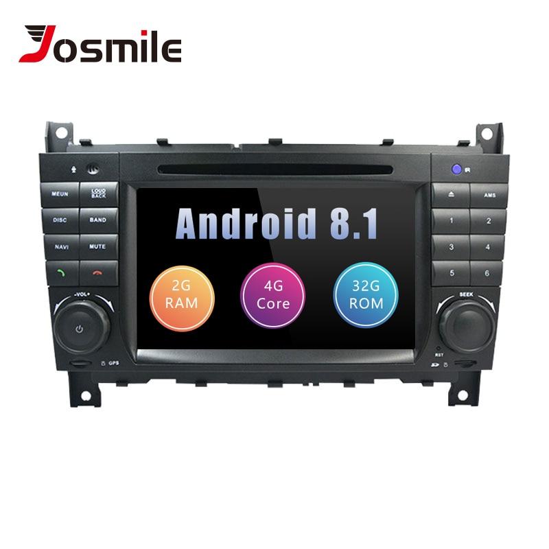 AutoRadio 2 Din Android 8.1 Car DVD Player For Mercedes BenzC-Classs CLC W203 CLK W209 2004-2007 C200 C230 C220 C320 C350 GPS 4GAutoRadio 2 Din Android 8.1 Car DVD Player For Mercedes BenzC-Classs CLC W203 CLK W209 2004-2007 C200 C230 C220 C320 C350 GPS 4G