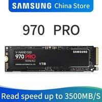Samsung 970 PRO M.2 (2280) 512 ГБ 1 ТБ SSD nvme pcie Внутренний твердотельный диск HDD жесткий диск дюймовый ноутбук Desktop MLC диска ПК