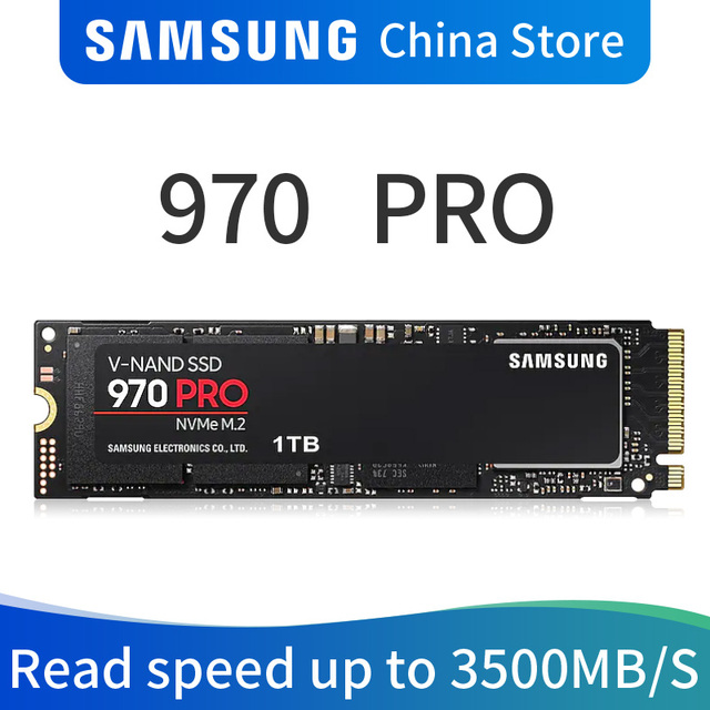 Samsung 970 PRO M.2 (2280) 512GB 1TB SSD nvme pcie dahili katı hal diski HDD sabit Disk inç dizüstü masaüstü MLC adet Disk
