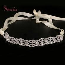 Свадебный обруч для волос свадебные вечерние обручи с кристаллами