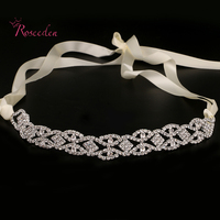 Fashion Bridal Wedding Headband Wedding Party Romantic Crystal Rhinestone Hairband Bride High Quality Hair Accessories RE683
