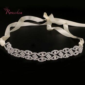 Moda festa de Casamento romântico cristal rhinestone hairband headband do casamento de noiva acessórios para o cabelo de noiva de alta qualidade RE683