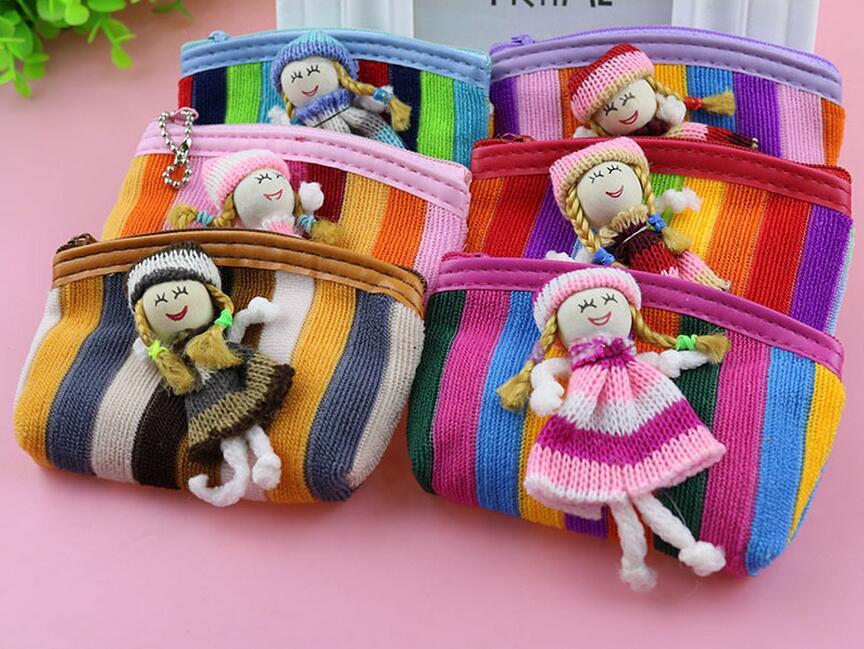 M070 Smll Creative Women Purses Fashionable Cute Colorful Little Wood Girl Zero Wallet Purses Girl Women Gift Wholesale smj tripod mount adapter for gopro hero 4 2 3 3 hd 2 sj4000 black