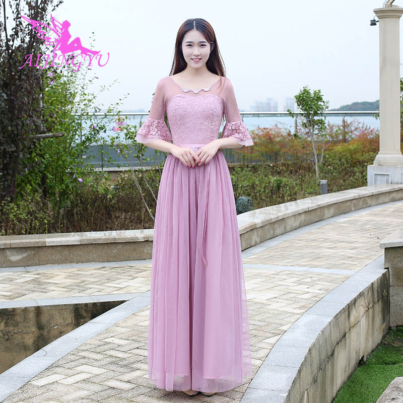 AIJINGYU 2018 hot wedding guest party prom   dress     bridesmaid     dresses   BN783
