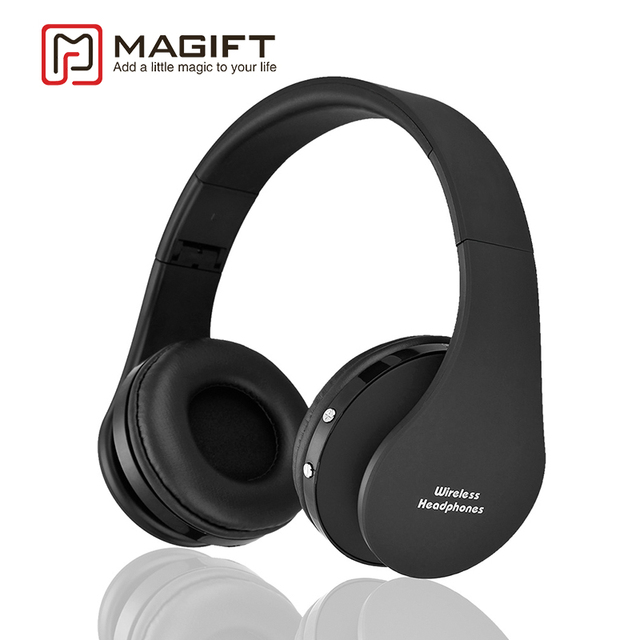 Magift Bluetooth Earphone Wired Wireless Headphone Microphone Sport