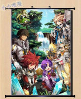 Elsword Reckless Fist Home Decor Japanese Poster Wall Scroll Art Cosplay