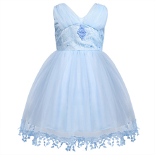 цена на Baby Girl Princess Dress High Quality Baby Girl 1 Year Birthday Party Dress New Arrival Girls Wedding Party Ball Gown for 6M-24M