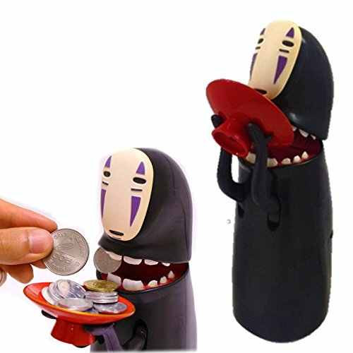 Alcancia לא פנים פיגי בנק האדם חסר Ghost אלקטרוני מצחיק חיסכון תיבת אוטומטי לאכול מטבע מזומנים תיבת מוסיקלי בטוח כסף ילדים