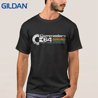 Designing T Shirt Commodore 64 Euro Size Black Short Sleeve Mens Tee Shirts 100 Cotton Online