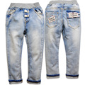 3638  boy  girl kids jeans  light  blue  not  fade spring autumn   trousers pants boys girls children's clothing
