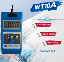 WT10A Magnetometer Surface Magnetic Field Tester Gaussmeter Gigital Gauss Meter Tesla 0~2000mT Fluxmeter Ns function Search(China)