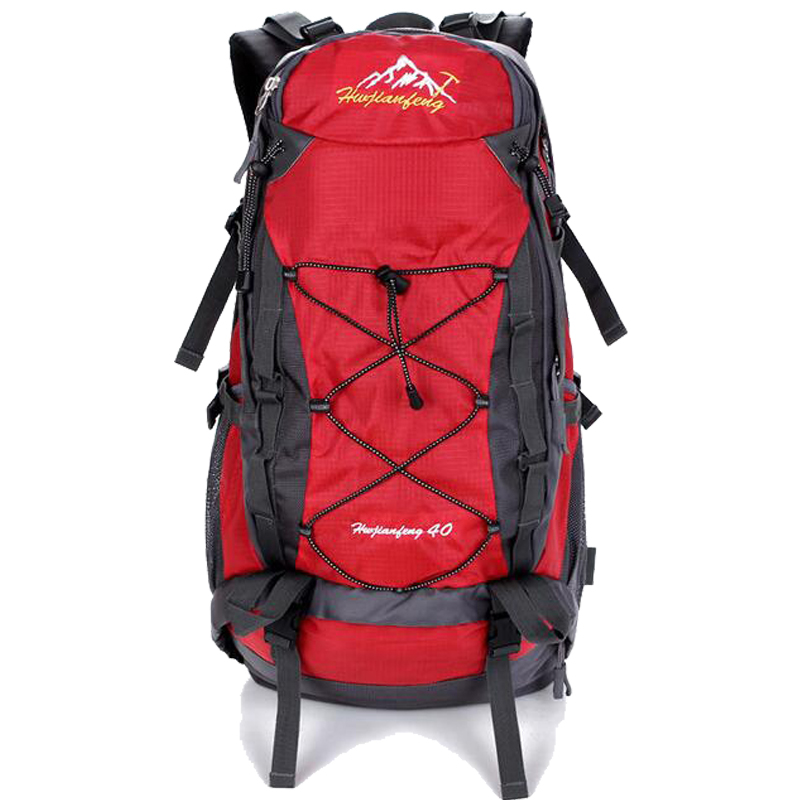 Hot Waterproof Outdoor Sports Bag 40L Mountaineering Backpacks Functional Men Women Bag Bolsas Femininas Hiking traveling Bag 40l waterproof women