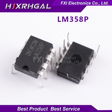 10PCS LM358P DIP8 LM358 DIP LM358N Operational amplifier New original free shipping