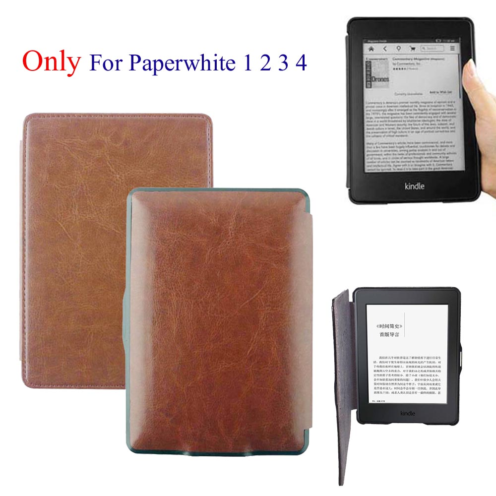 Color book effire - 10 Color Advanced Leather Book Cover For Kindle Paperwhite1 2 3 2015 2014 2013 2012 Sleeve