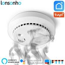 Lonsonho Wifi Carbon Monoxide Detector Co Smoke Sensor Smart House Security Tuya Smart Life App Alexa Google Home IFTTT все цены