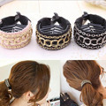 Women Fashionable Luxury Cute Chain Hair Clip Hair Ponytail Buckle Barrette Hair Accessories