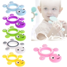 Safety Tortoise Baby Kids Food Grade Silicone Soother Teether Teething Pacifier W15