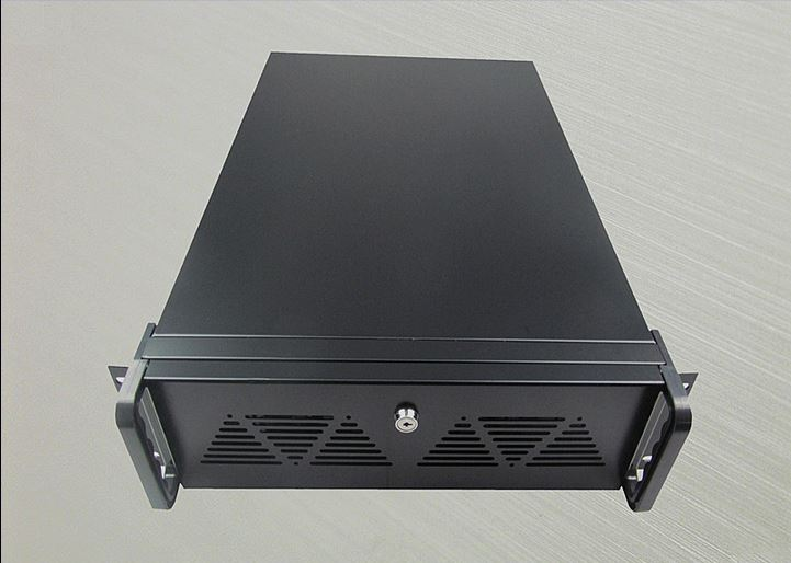 font b Server b font Chassis band lock 3U 550mm Industrial IPC computer case