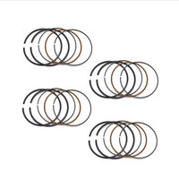 NO LOGO 4Pcs Motorcycle Engine Parts STD Bore Size 55mm Piston Ring For Honda VFR400 NC30 RVF400 NC35 VFR RVF 400 RVF35 VFR30