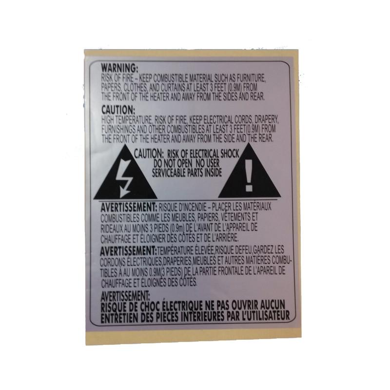 adesiva para tras lado prata pet etiqueta resistente ao calor
