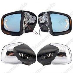 Dla BMW K1200 K1200LT K1200M 1999 2008 motocykl lusterko wsteczne migacz światło kierunkowskazu LED lusterka wsteczne lusterko wsteczne Retroviseur Moto w Lusterka boczne i akcesoria od Samochody i motocykle na
