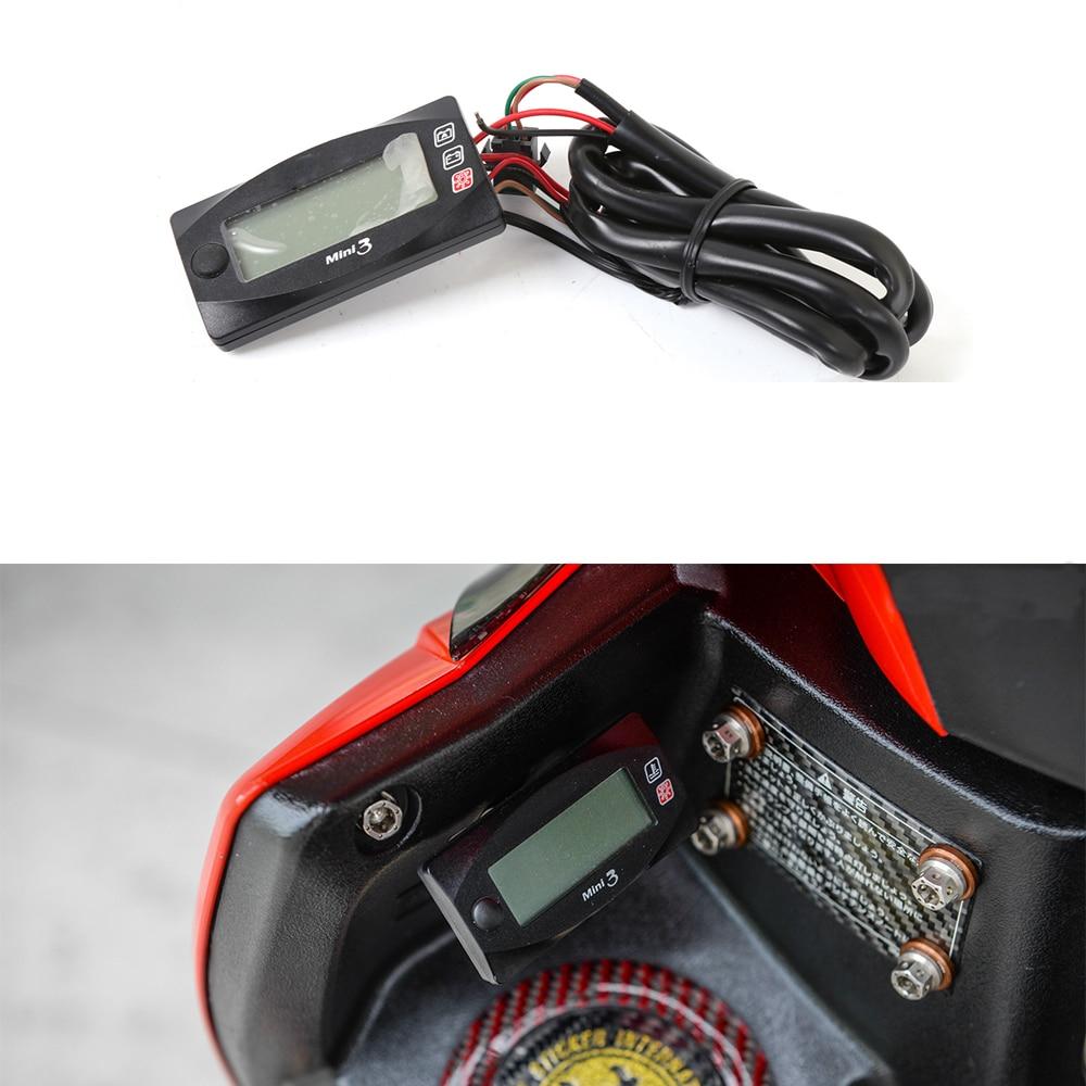Motorcycle Digital Meter : Motorcycle universal multi function digital
