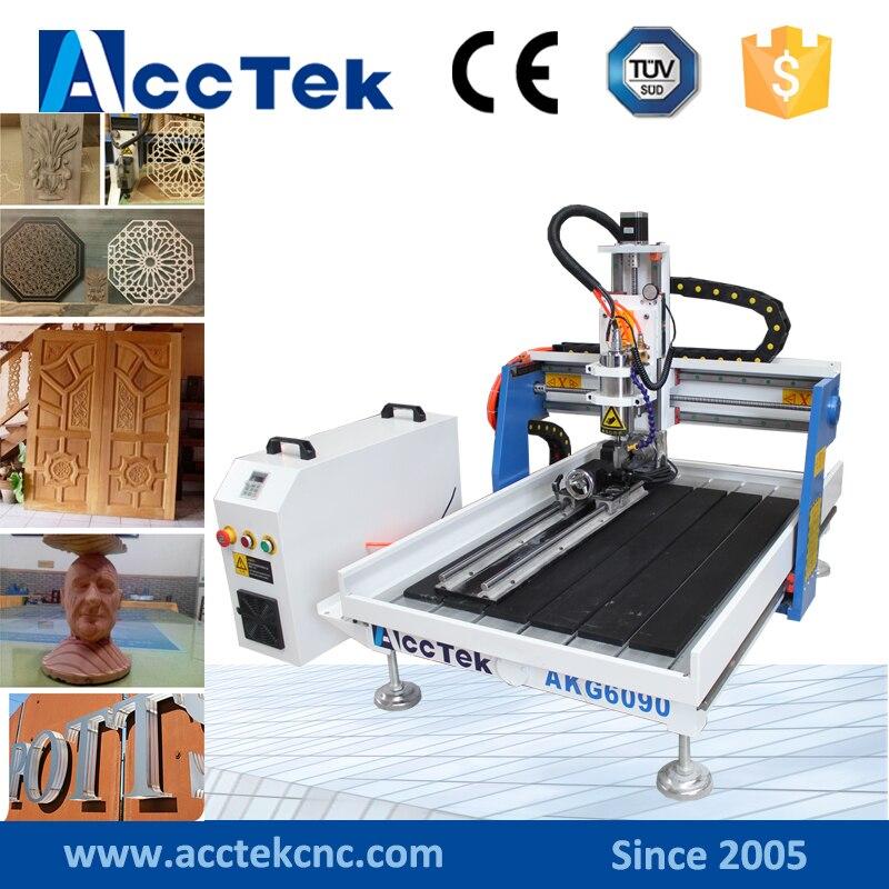 New design ,combination woodworking machines AKG6090 desktop cnc 3.0kw akg y 20u