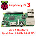 Em ESTOQUE 2016 Original Novo Novo Elemento 14 Raspberry Pi 3 modelo B 1 GB RAM Quad Core 1.2 GHz CPU 64bit WiFi & Bluetooth