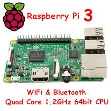 In STOCK 2016 New Original New Element 14 Raspberry Pi 3 Model B 1GB RAM Quad Core 1.2GHz 64bit CPU WiFi & Bluetooth
