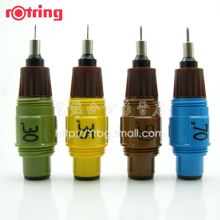 ФОТО 1PC-Rotring isograph red ring pen needle chirography stylus nib 0.12345678 full